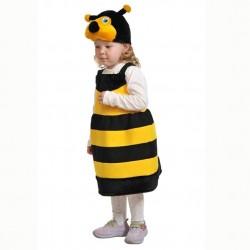 Карнавальный костюм Пчелка текстиль Батик р28