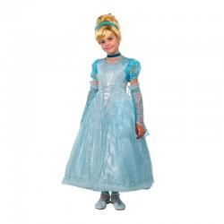 Карнавальный костюм Принцесса Золушка текстиль Батик р30