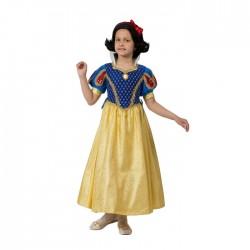 Карнавальный кост Принцесса Белоснежка текстиль Батик р30