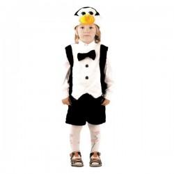 Карнавальный костюм Пингвин мех Батик р28