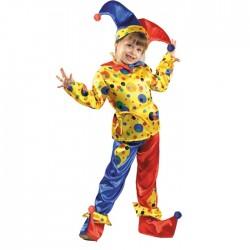 Карнавальный костюм Петрушка текстиль Батик р28