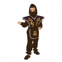 Карнавальный костюм Ниндзя текстиль Батик р28
