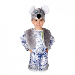 Карнавальный костюм Мышонок Филипка текстиль Батик р26