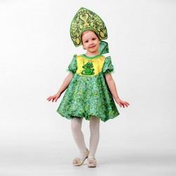 Карнавальный костюм Лягушка-Царевна Батик р30