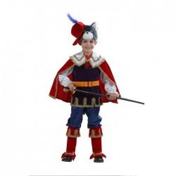 Карнавальный костюм Кот в сапогах Батик р28