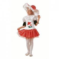 Карнавальный костюм Грибок-девочка Батик р28