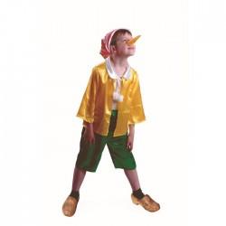 Карнавальный костюм Буратино сказочный Батик р30