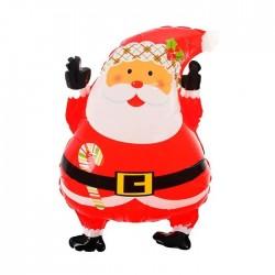 Шар фольгированный Дед мороз 63см