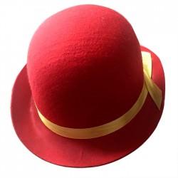 """Шляпа """"Котелок"""" Красная (Китай)"""