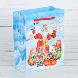 Пакет ламинированный вертикальный «Долгожданные подарки», 11 × 14 × 5 см 2113819