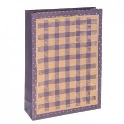 Пакет крафт Рисунок 15х20х6см