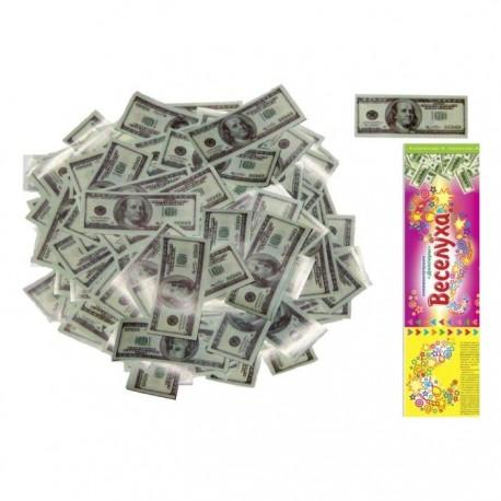 Пневмохлопушка Доллары 30 см / 1 шт. /