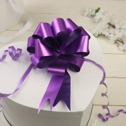 Бант-шар простой фиолетовый 3см