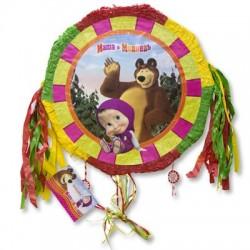 Пиньята Маша и Медведь с лентами (4690390154061)