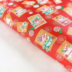 Бумага упаковочная глянцевая Сладкое послание 70×100см