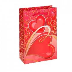 "Пакет подарочный ""Любящее сердце"" 11,5х17,5х5 см 1163776"