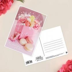 Почтовая карточка С любовью 10×15см
