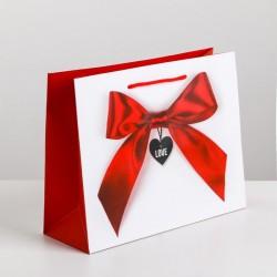 Пакет ламинированный горизонтальный «Счастье моё», M 26 × 30 × 9 см 3639809