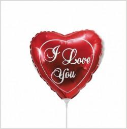 И 9 Мини Сердце Любовь (красное) / Love / 1 шт / (Испания)