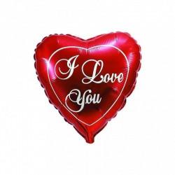 Шар Сердце красное Любовь 48см