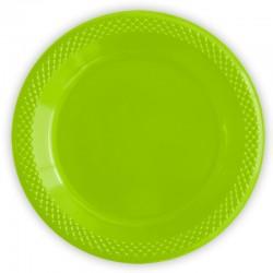 Набор тарелок Делюкс Лайм 15см 10шт