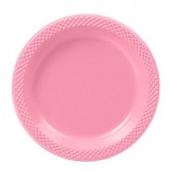 Набор тарелок Делюкс Розовые 15см 10шт