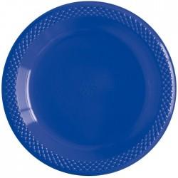 Набор тарелок Делюкс Синие 15см 10шт