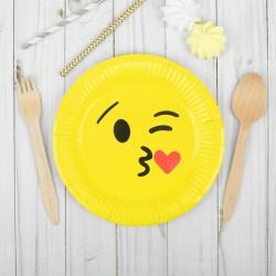 Набор тарелок Поцелуйчик 18см 6шт