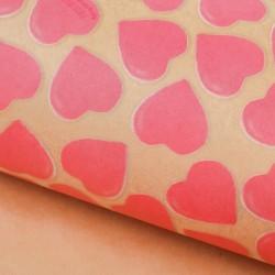 Бумага упаковочная крафтовая Любви и вкусняшек 50×70см