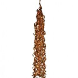 Тассел. Хвост для шара 1,1 фольгированный Золотой / 1 шт. / (Китай)