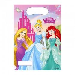 """P Пакеты подарочные """"Принцессы"""" / Princess Dreaming / 17*23 см / набор 6 шт. / (Китай)"""
