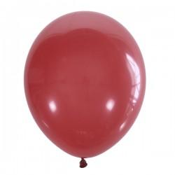 "M 12""/30см Пастель RED 006 100шт шар латекс"