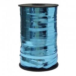 Лента металлизированная голубая 0,5см x 250м