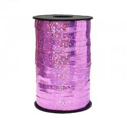 Лента голография (0,5 см x 250 м) Розовый
