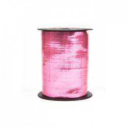 Лента металлизированная (0,5 см x 250 м) Розовая