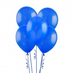 Набор из 3 шаров Dark Blue Матовый 30 см