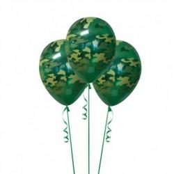 Набор из 3 шаров Камуфляж Матовый 30 см