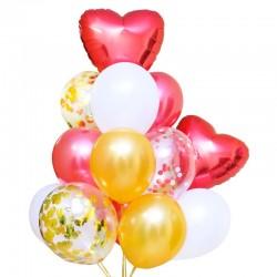 Фонтан из шаров От всего сердца