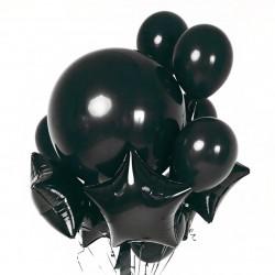 Фонтан из шаров Черная жемчужина