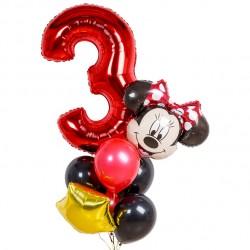 Фонтан из шаров День Рождения