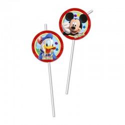 "P Стаканчики для мороженого 200 мл ""Игривый Микки Маус"" / Playful Mickey / набор 8 шт. / (Китай)"