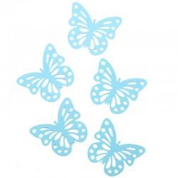 """Декоративные наклейки """"Бабочки"""" с перфорацией мятные 10 х 7 см 24 шт"""