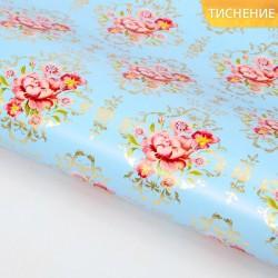 Бумага упаковочная глянцевая «Для тебя» (тиснение), 70 × 100 см 820788