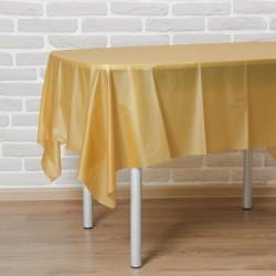 """Скатерть 137*183 см """"Праздничный стол"""", цвет золото 3520053"""