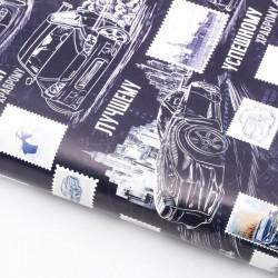 Бумага упаковочная глянцевая «Лучшему», 50 × 70 см 3413606