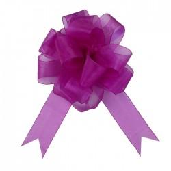Бант-шар №5 органза, фиолетовый 828222