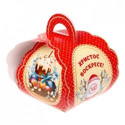 """Коробочка подарочная для яйца """"Христос Воскресе! Кулич"""" 13,4*26,2 см 1746985"""