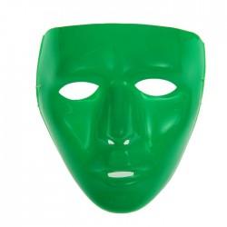 """Карнавальная маска """"Лицо"""", цвет зеленый 1205687"""