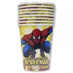Стакан Marvel Человек-Паук 250мл 8шт/A (4690390062984)