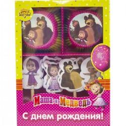 Декор -комп д/кекса Маша и Медведь
